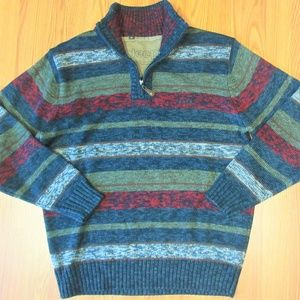 JEEP Mens COTTON/WOOL/ACRYLIC BLEND SWEATER